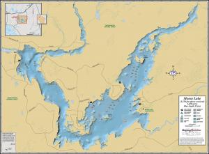 Moose Lake Fold Map