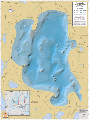 Fence Lake Fold Map