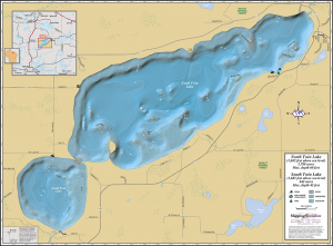 North & South Twin Lakes Fold Map