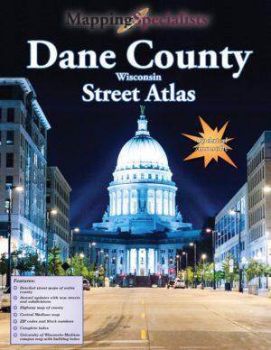 Dane County Street Atlas (2020) $19.95