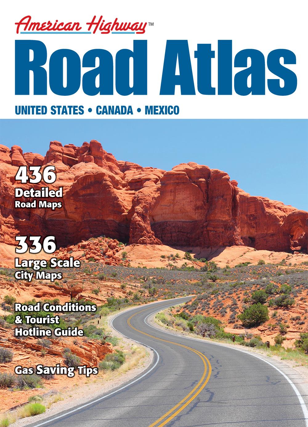 American Highway Road Atlas (Large Format)