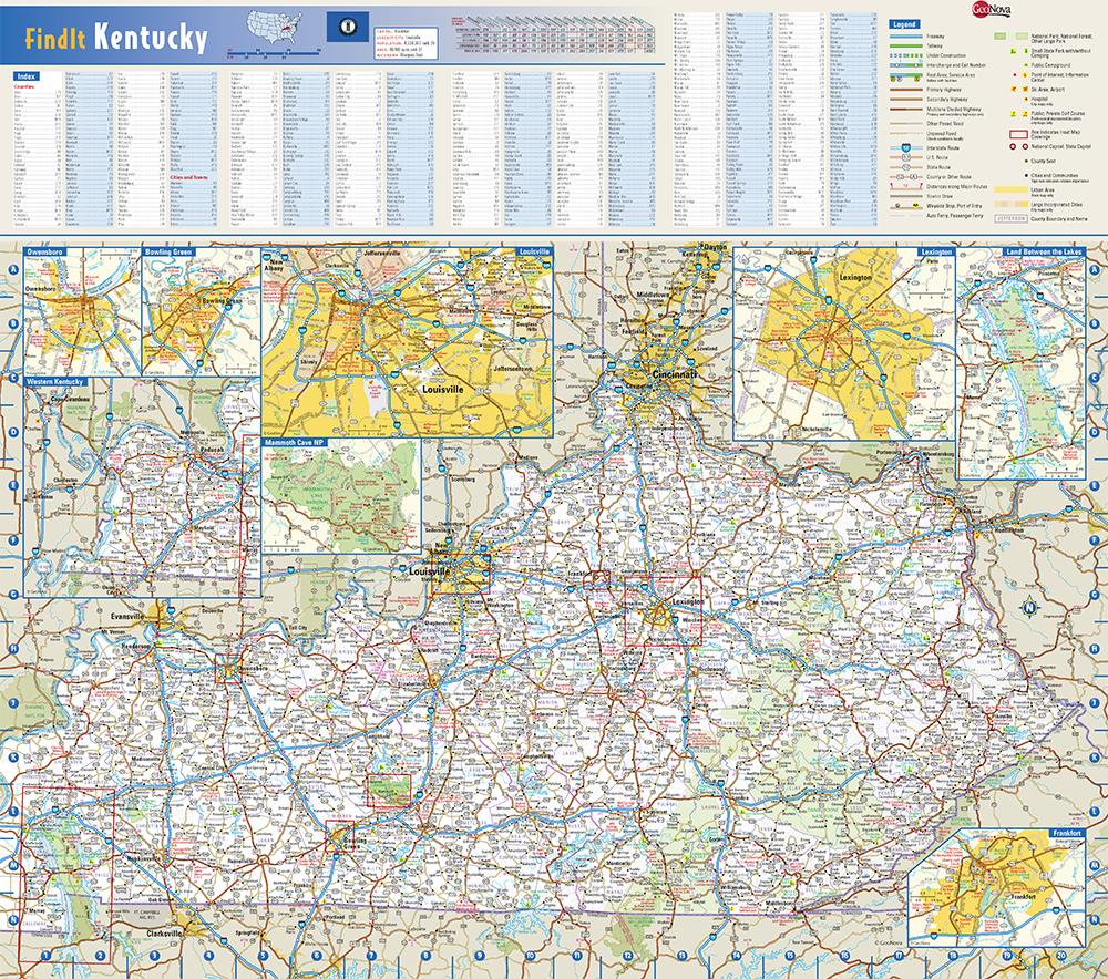 Kentucky State Wall Map by Globe Turner on indiana map, virginia state map, massachusetts state map, minnesota map, louisiana on us map, maine state map, maryland state map, tenn state map, louisiana state map, pennsylvania state map, arkansas state map, south dakota state map, colorado state map, louisville map, texas state map, kentucky capitol building, tennessee map, new york state map, u.s map, arizona state map,
