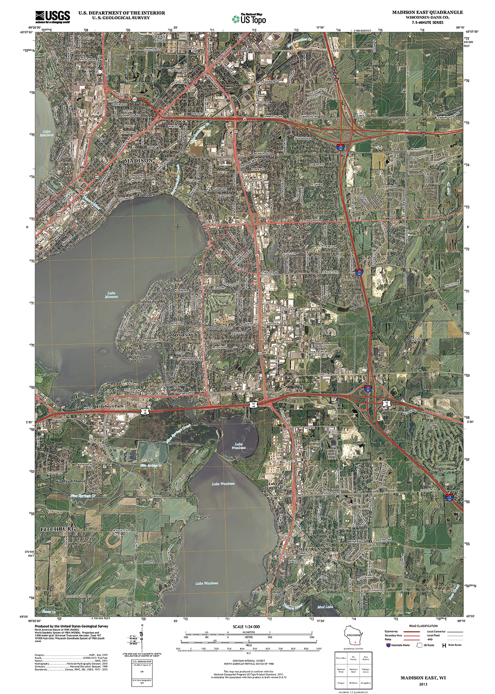 Customized USGS Topo Maps