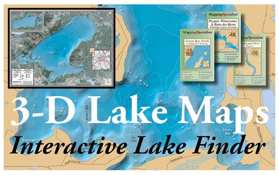3D Lake Maps