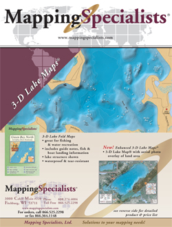 Lake Map Flyer