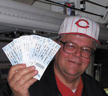 …and he even sprung for Brewer''s tickets!