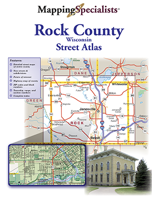 Rock County Street Atlas
