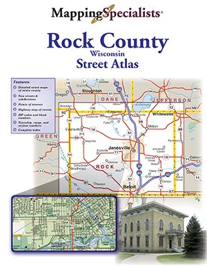 Rock County Street Atlas