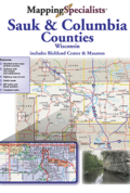 Sauk and Columbia Counties Street Atlas