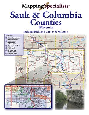 Sauk and Columbia Counties Street Atlas