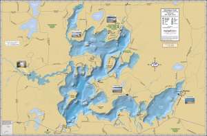 Namakagon Lake Fold Map