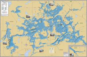 Chippewa Flowage Fold Map