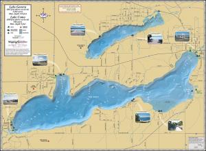 Geneva & Como Fold Map