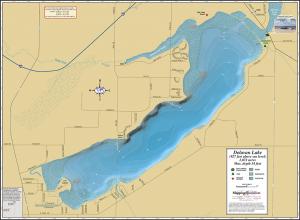 Delavan Lake Fold Map
