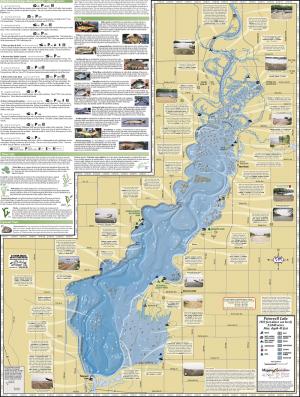 Petenwell Lake & Castle Rock Lake Fold Map