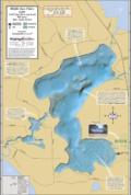 Middle Eau Claire Lake Fold Map