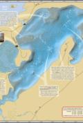Upper Eau Claire Lake Fold Map