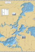 Manitowish Lakes Chain Fold Map
