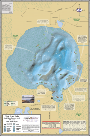 Little Trout Lake Fold Map