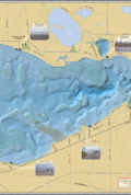 Shawano Lake Fold Map