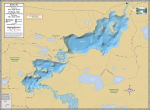 High Lake & Fishtrap Lake Fold Map
