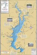 Lake Redstone Fold Map