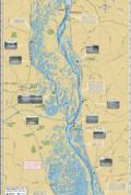 Mississippi River (Pool 9) Fold Map