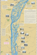 Mississippi River (Pool 10) Fold Map