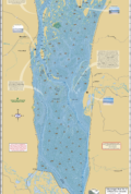 Mississippi River (Pool 8) Fold Map