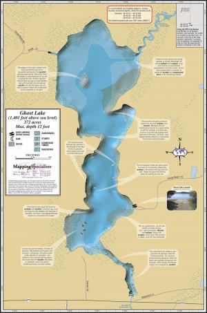 Ghost Lake Fold Map