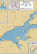 Lake Wisconsin Wall Map