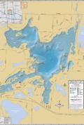 Okauchee Lake Wall Map