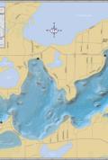 Lac Courte Oreilles Wall Map