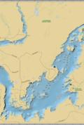 Moose Lake Wall Map