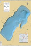 Kentuck Lake Wall Map
