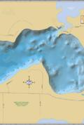 Dam Lake Wall Map