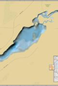 Hunter Lake Wall Map