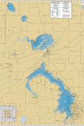 Fox Lake Region Wall Map