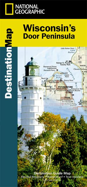 Wisconsin's Door Peninsula Destination Map