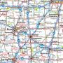 Medium Format State Map